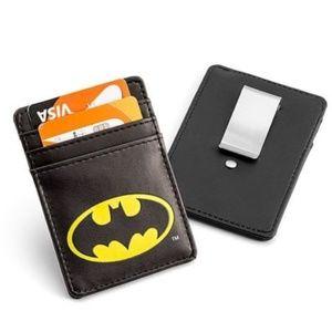 Batman Justice League Card Wallet with Money Clip
